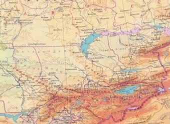 Озеро балхаш где оно находится